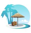 Island coast vector image vector image