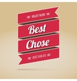 Best chose poster vector image