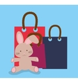 Toy shop design vector image