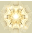 Abstract Gold Shiny background vector image vector image