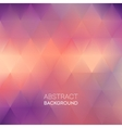 Abstract blur triangle pattern background vector image