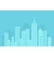 urban blue background vector image