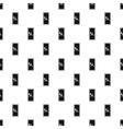 Safe door pattern simple style vector image