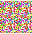 Confetti party design seamless pattern vector image