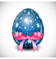 Beautiful Easter Egg Background vector image vector image