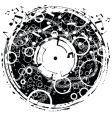 Disk grunge vector image