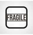 Fragile open envelope horn icon Simple vector image