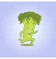 Fresh broccoli 01 vector image