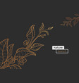 template branch nature vector image