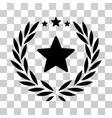 Proud emblem icon vector image
