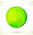 Green acrylic paint circle vector image vector image
