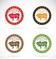 Cow beef 2 vector image