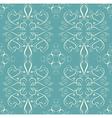 Vintage flower seamless pattern floral designed vector image