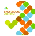 Colorful modern geometric abstract background vector image