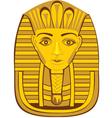 golden pharaoh vector image