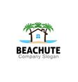 Beach Hut Design vector image