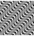 Moving Stripes Optical Seamless Pattern Some vector image