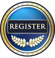 register now icon vector image