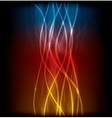 abstract lines design on background vector image vector image