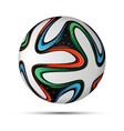 Football ball 2014 vector image