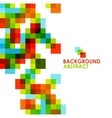 Colorful modern geometric abstract background vector image vector image