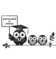 Knowledge is Power vector image