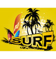 surf vector image