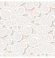 Vintage swirls pattern vector image