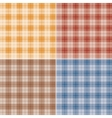 Scottish plaid vector image vector image