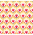 Floral pattern Seamless background vector image vector image