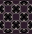 art nouveau pattern vector image