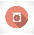 CD-ROM icon vector image