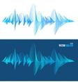 equalizer colorful musical bar set vector image