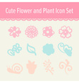 cute pastel beauty and make up cartoon icon set vector image
