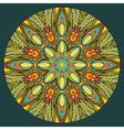 Ethnic Round Element vector image
