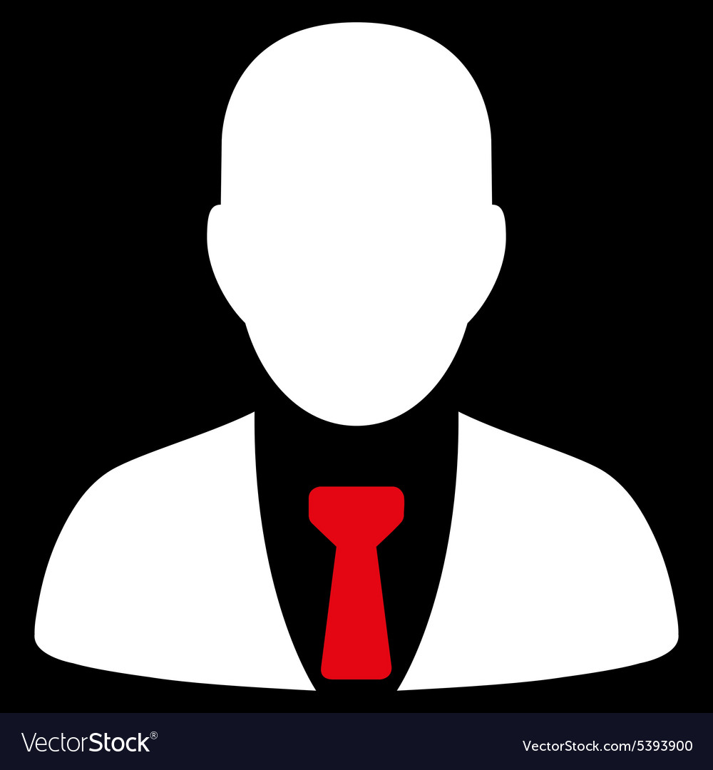 Businessman icon from commerce set vector