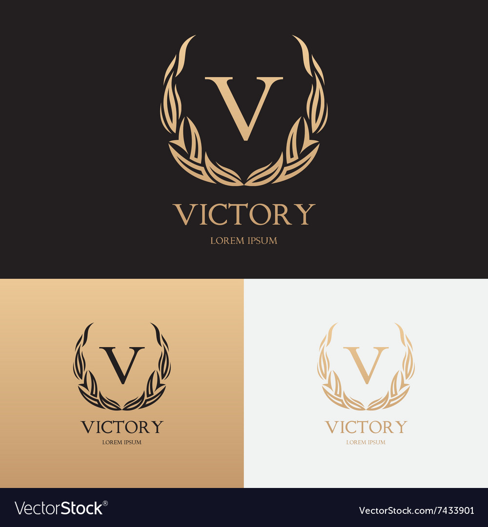 Template of logo of boutique brand vector