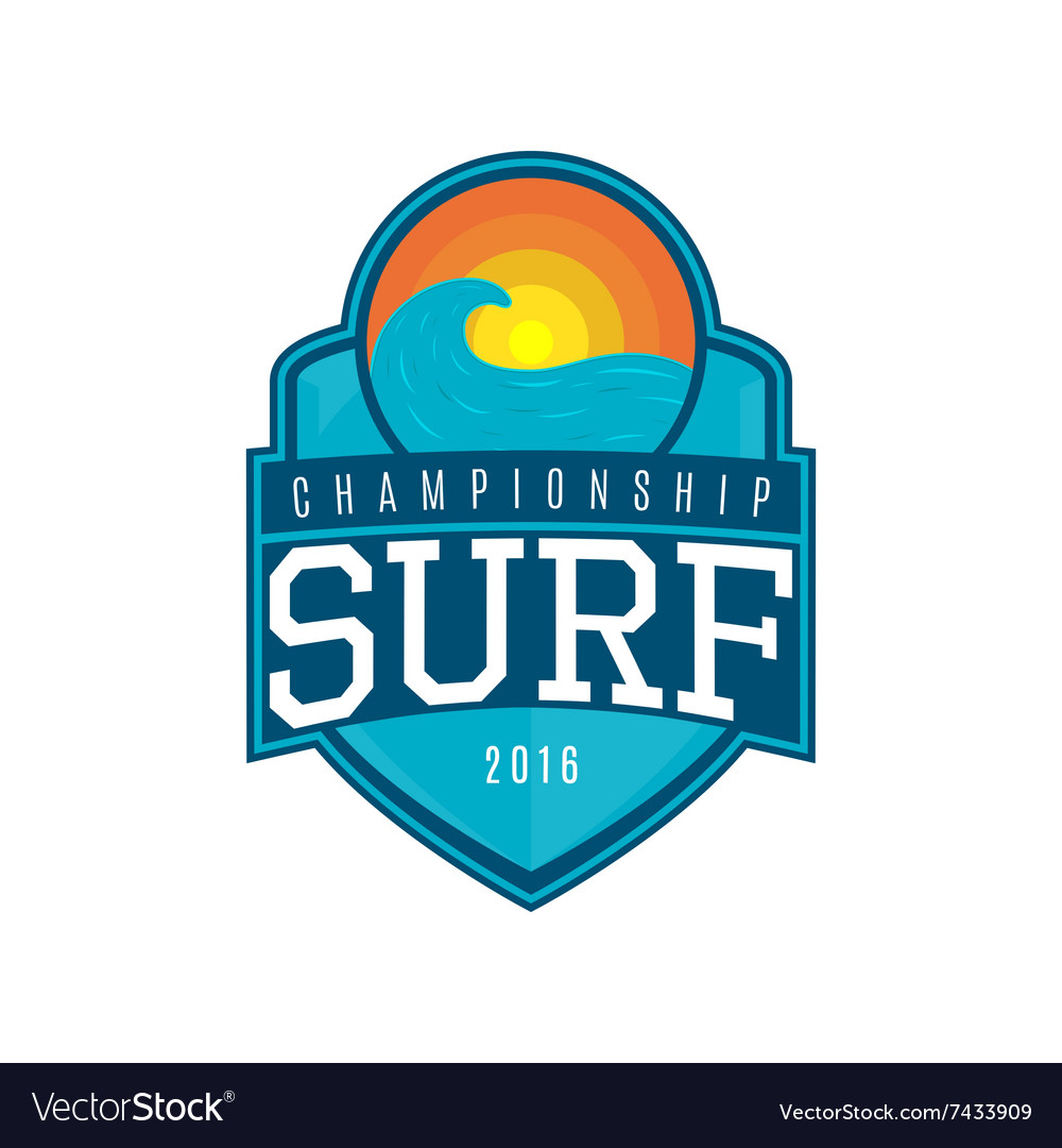 Label of surf vector
