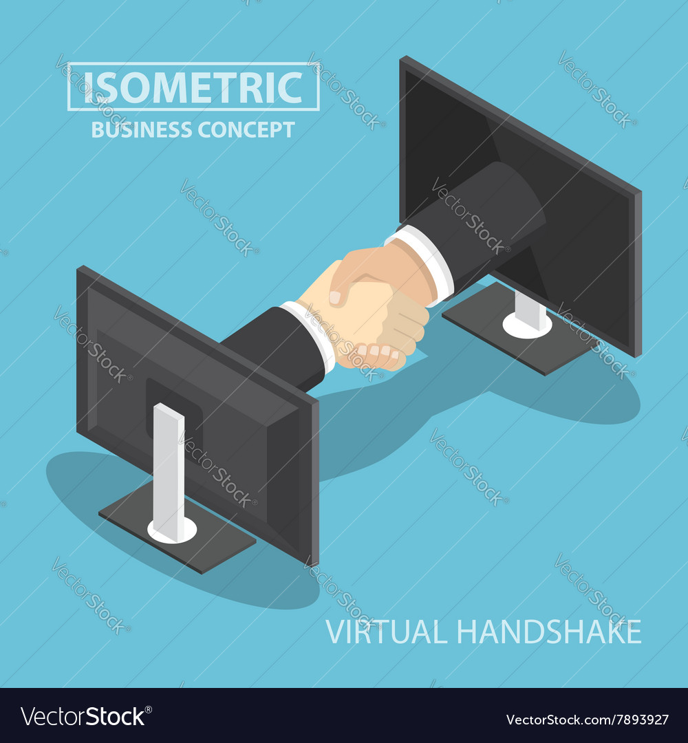 Virtual handshake vector