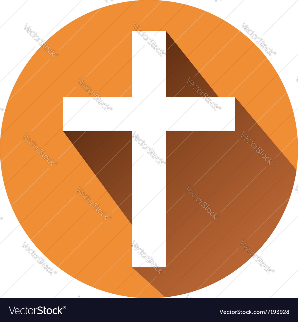 Sign of the cross vector