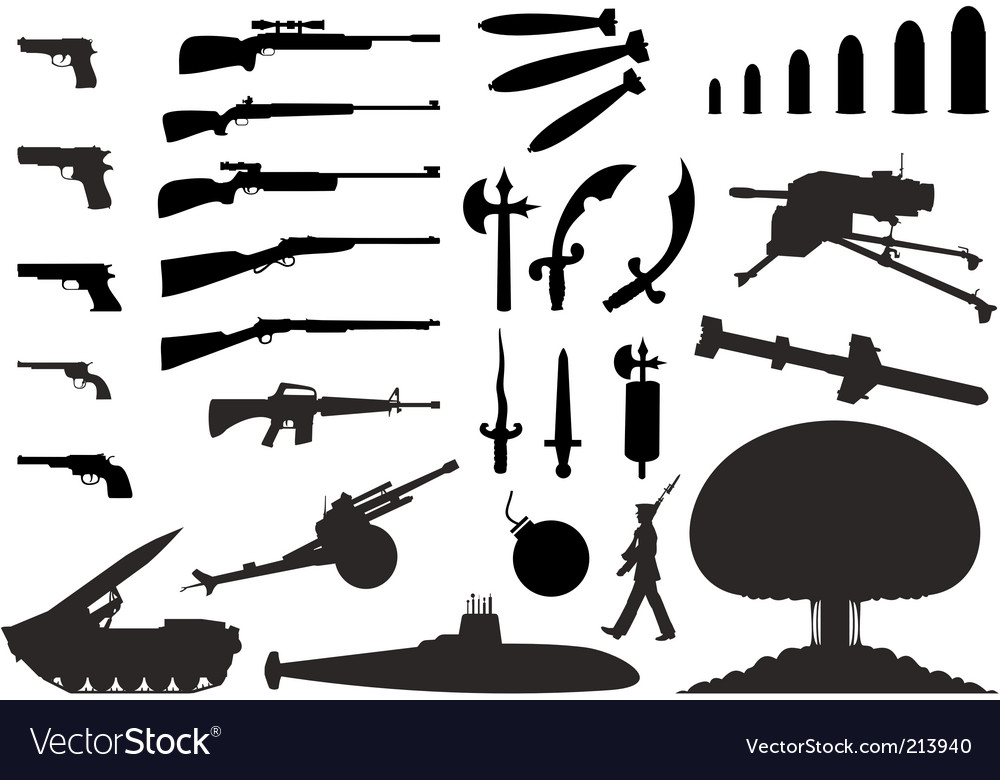 Weapon vector