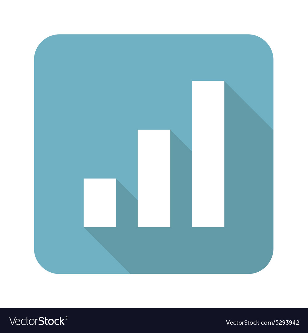 Square volume scale icon vector
