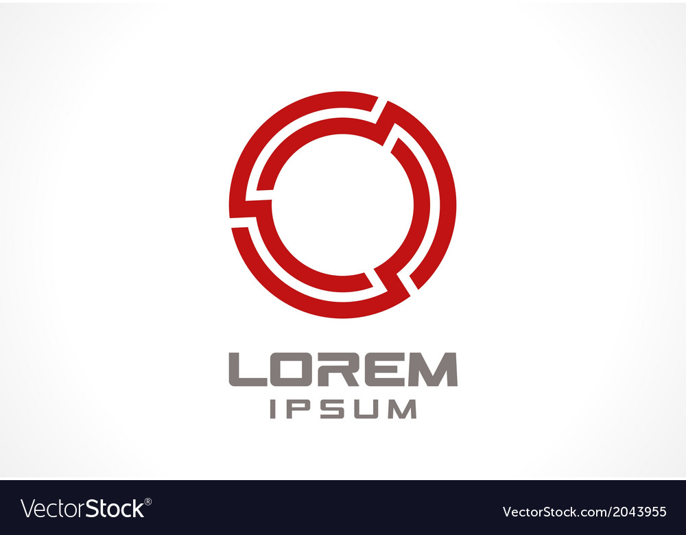 Icon design element vector