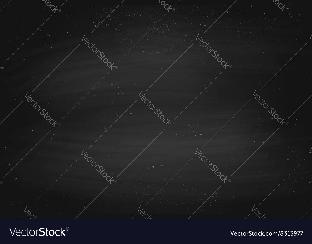 Black empty chalkboard background surface and vector