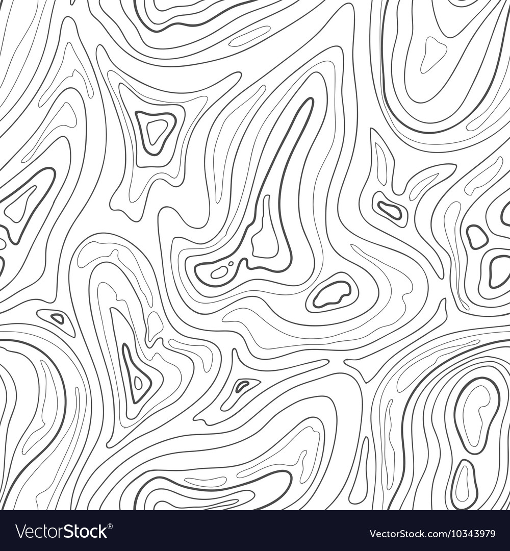 Contour topographic map background vector