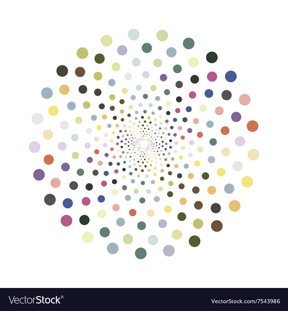 Colorful circle vector