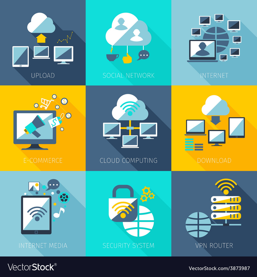 Network concept set vector