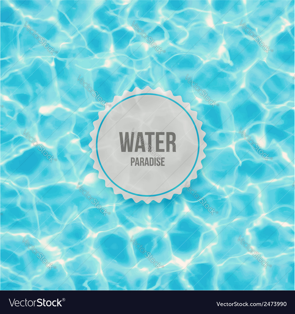 Water paradise vector