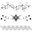 scroll elements vector image