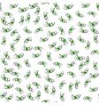 Cartoon money fall down like rain vector image